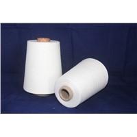 Waxed 40s 100% Polyester Spun Yarn for Knitting
