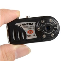 New HD 720P Q5 infrared Night vision Mini Camcorder DV DVR Camera Recorder