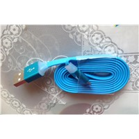 1M/3FT colorful USB charging cable USB data cable for Samsung Galaxy HTC Blackberry mobile phone