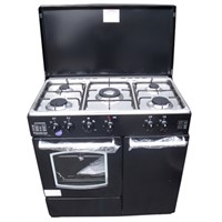 Free Standing 5 Burner Gas Cooker Oven