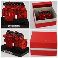 Diecast Foton Cummins mechanical engine model