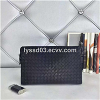 2015 latest offical men bags wholesale high quality genuine leather hand clutch for men