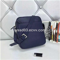 2015 wholesale genuine leather message bag for men