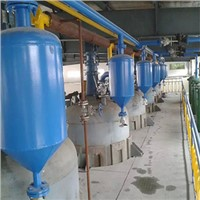 2T stainless steel crude palm oil refinery machine