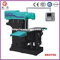 XK5756 Ram Type Universal Milling Machine CNC Universal Milling Machine in Machinery