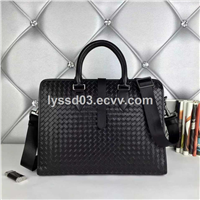 genuine leather conference bag for men fashionable leather bag