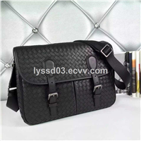 new design message genuine leather bag for men