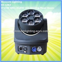6*15W 4IN1 RGBW Mini B-Eye LED Moving Head Beam Light (BS-1063)