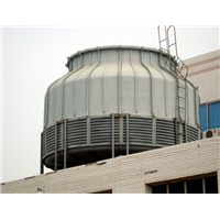 FRP industrial square water cooling tower