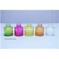 fashion colorful glass perfume bottle, perfume bottle design
