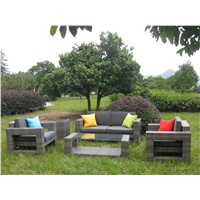 Outdoor Furniture PE Garden Rattan Sofas
