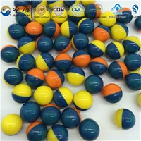 Colorful premium paint-ball soluble in water