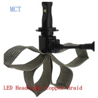 No fan XML U2 car led headlight h7 2500lm LED Headlight