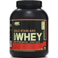 ON Gold Standard Whey, Double Rich Chocolate - 5 lb jar