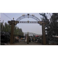faux cheap wrought iron fence panels for sale