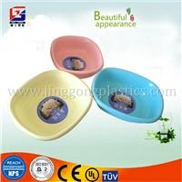 Solid color plastic basin/plastic square basin