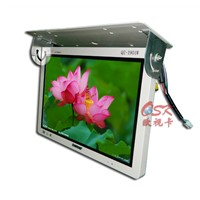 19 inch vehicle-mounted LCD display AV+HDMI input