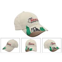 Unisex mid profile white cotton baseball cap snapback cap sport cap