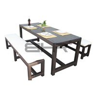 Dining furniture/ rattan table