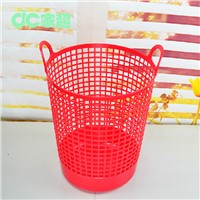 Hold for dirty clothes or clean clothes Big volumn Household necessary Round Plastic Laundry Basket