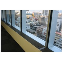 glass curtain wall new air system JT314