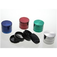 Herb Grinder Smoking Grinder Size CNC Grinder metal cnc Teeth tobacco Grinder 50mm 4 Parts mix