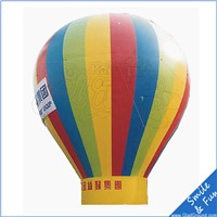 floating inflatable advertising balloon 6m