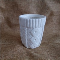 Sweater Shape Ceramic Candle Cups, Candle Containers