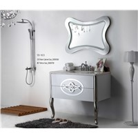 YB-923 Two Legs High Quality Stainless Steel 304 Grade Bathroom Cabinet