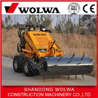 skid steer loader with various attachment mini skid steer loader attachment