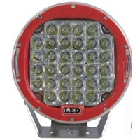 CE ROHS IP67 12V 24V DC 96watt 9Inch Offroad led work light