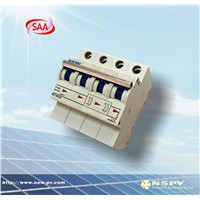 DC 1000V 1200V miniature circuit breaker with SAA certification of Newsun China