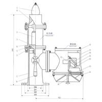 Oil tanker P/V valve