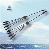 solar 2in1, 3in1, 4in1, branch cable assembly of Newsun China