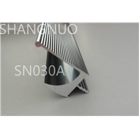 aluminum hidden kitchen cabinet door handle, SN030A