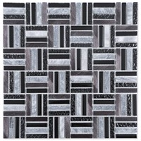 Interior Deco Aluminum Strip Marble Stone Glass Prices Mosaic Bathroom Wall Tiles