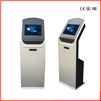 Slim Stand Touch Screen Information Kiosk