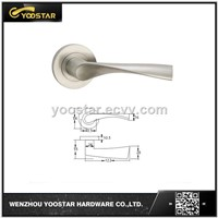 Stainless steel solid handle