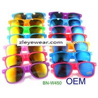 best selling mirror promotion wayfarer sunglasses