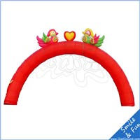 chaep inflatable arch with PVC tarpaulin material for advertising