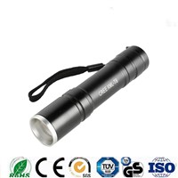 High Power 1000lm 5 Mode Foucs Zoom Rechargeable Led Flashlight for Camping (5112)