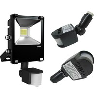 Super Bright  10w 20w 30w 50w LED Flood Light Sensor