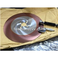 HSS Circular Saw Blade with Red plus coating.