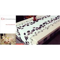 3D Printed Table Cloth with backing RNPT brand most hot sales table cover