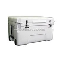 Premium 50Liter White Rotomolded Fishermen Coolers