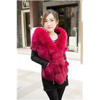 evening dress in turkey  2015 fanshion fur clothing fox fur shawl
