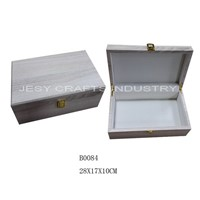 wooden storage box(B0084)