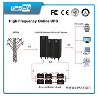 3 Phase UPS Uninterruptible Power Supply 10k - 80kVA with IGBT Tech