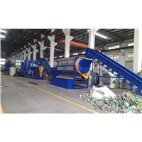 PET bottle PP PE film plastic recycling machine hot sell