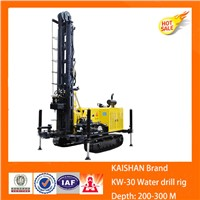 Sell KW30 series geothermal water well drilling rig with multifunctions